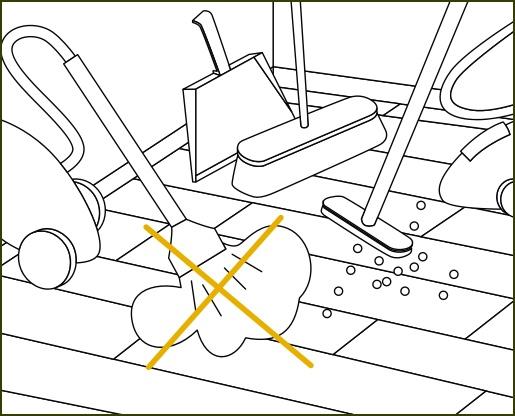 Verlegeanleitung susify: Ökobesserböden reinigen